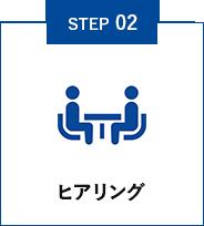 STEP02 ヒアリング